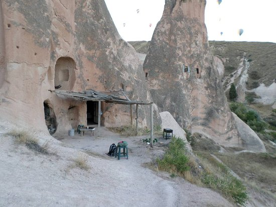 camping in one of these caves located in rose valley, Cappadocia was the most amazing experience i have ever had in my entire life