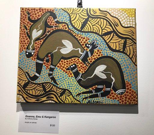 Local Queensland artist Anthony Donas.