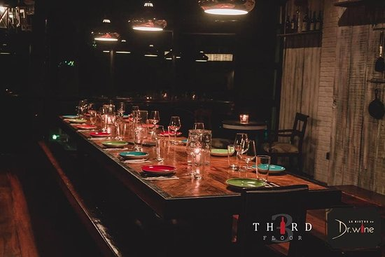 The Third floor Private Dining Concept