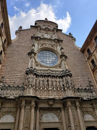Montserrat Small Group or Private Tour Hotel pick-up: Front of Basilica