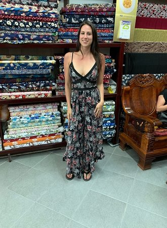 customer's jumpsuit