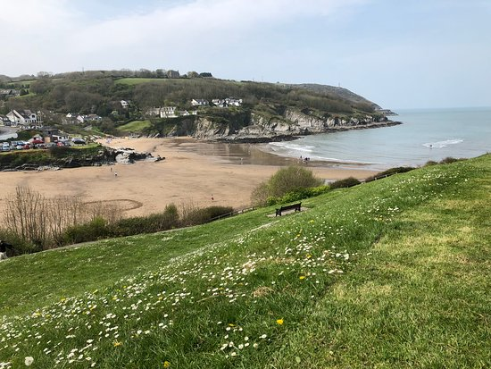 ‪‪Aberporth‬, UK: Views of beach‬