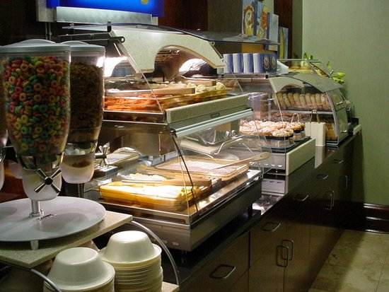 Holiday Inn Express Hotel & Suites - Athens: Restaurant