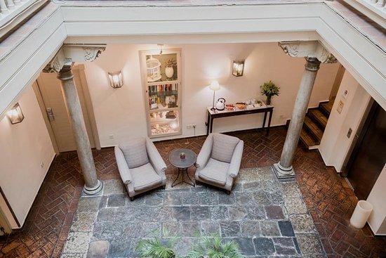 Hotel Palacio de Los Navas: Lobby