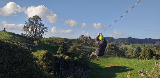 Waitomo Caves Zipline Park