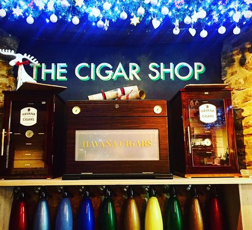 We have a Cigar shop at The Red Lion!