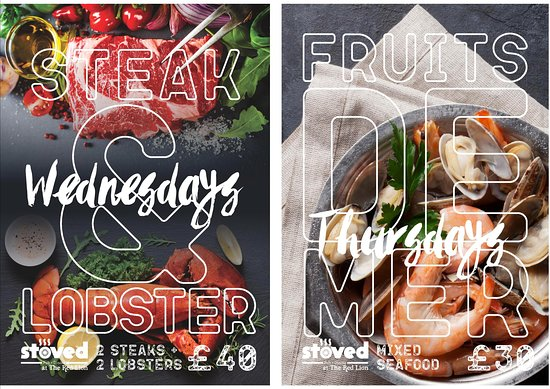 Wednesday's and Thursday's this summer at The Red Lion.