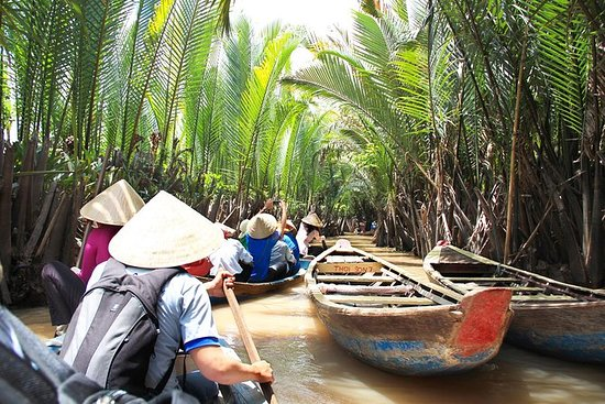 Privat Mekong Delta Boat Ride Day ...