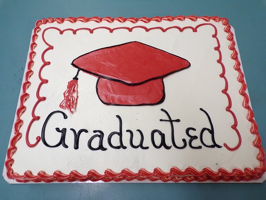 A Good example of one of our hand drawn full size sheet cakes.