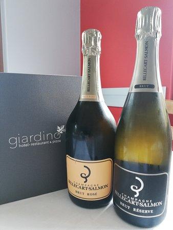 Giardino Hotel Restaurant & Pizza: Un assagio della nostra carta di vino