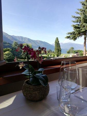 Giardino Hotel Restaurant & Pizza: Vista dalla sala