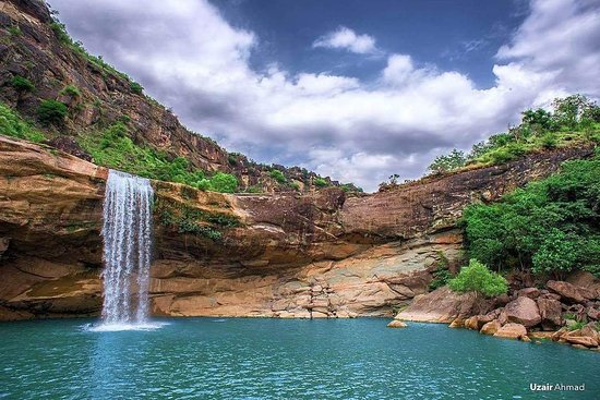 Kotli, Pakistán: Gulpur Waterfall
