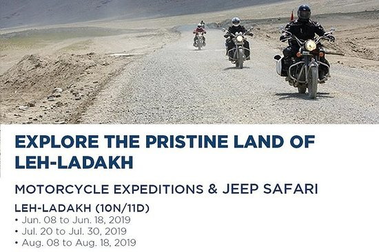 Leh-Ladakh Motorbike Expedition and...