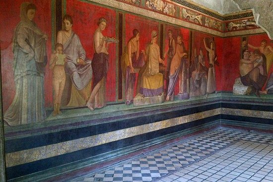 Excursão de partilha de Pompeia