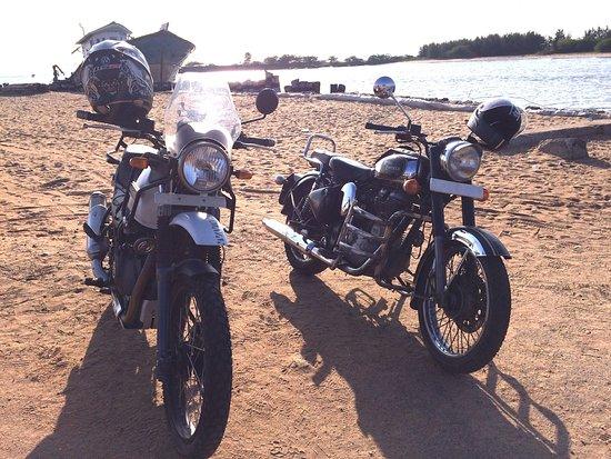 Tranquebar, Индия: Motorcycle tour from Chennai