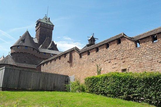 全日私人旅游:来自斯特拉斯堡的Haut-Koenigsbourg和阿尔萨斯葡萄酒...