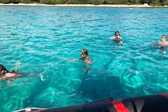 Excursão de barco na Ilha Azul em...
