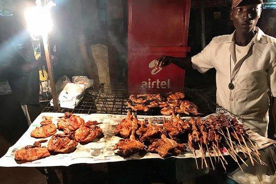 Tour nocturno de comida en la calle...