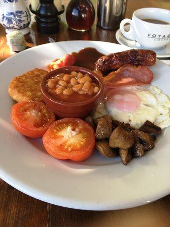 Dartmoor Halfway Inn: Breakfast