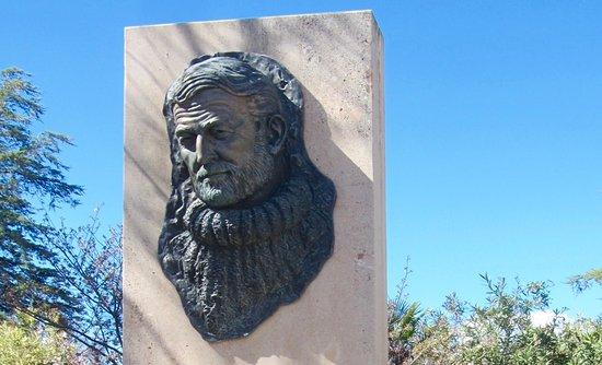 Ernest Hemingway Ronda Sculpture