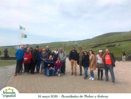 Irlanda en Espanol: 14 mayo 2019 tour Acantilados de Moher y Galway