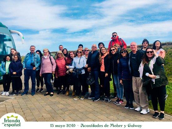 Irlanda en Espanol: 15 mayo 2019 tour Acantilados de Moher y Galway