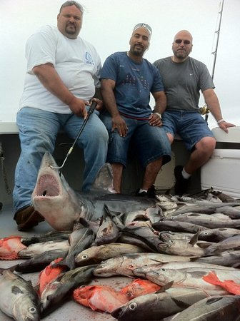 North Scituate, MA : Deep Sea fishing for Ground Fish