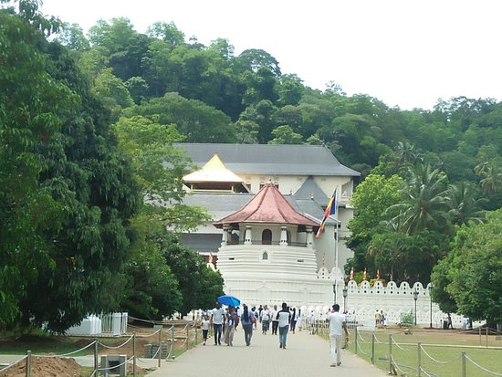 Temple of the Sacred Tooth Relic Fotografie