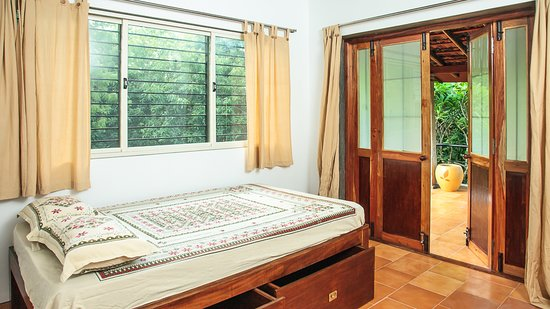 Auroville, Indie: another view of the bedroom