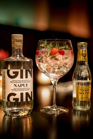 Delicious and refreshing Gin & Tonic.