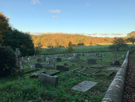 Hambledon Church graveyard