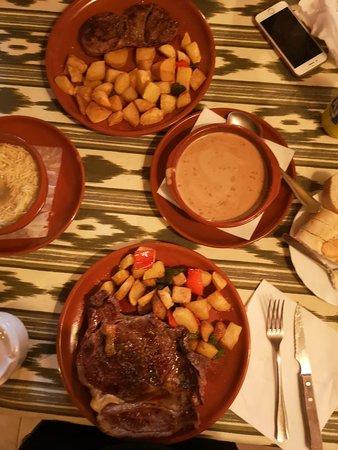 Tapas, T-bone n Steak