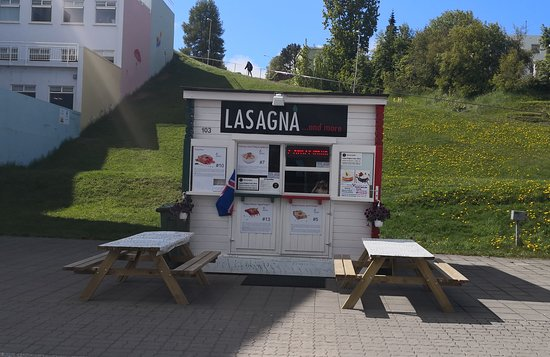 The first Italian typical Street Food in the world is in Hafnarstraeti 103, Akureyri - Iceland