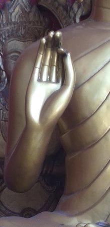 Wat Ou Sai Kham: Mudra of a teaching