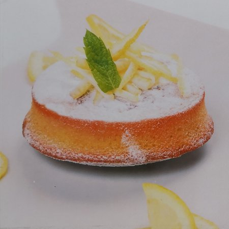 Lemon Caprese Cake made with almond flour with original recipe from Capri Island
