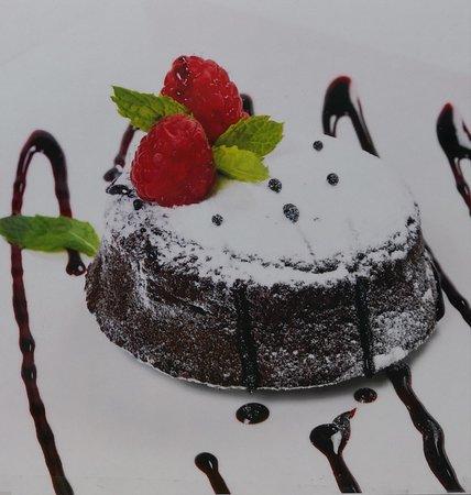 Chocolate Caprese cake made with original recipe from Capri Island and made with almond flour.