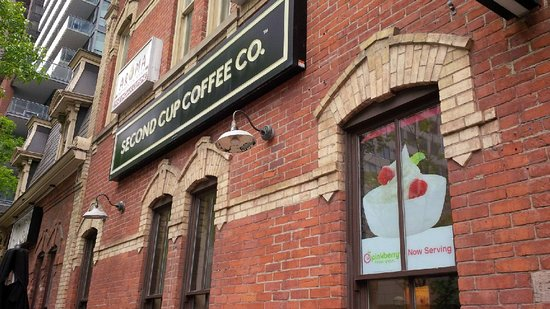 Second Cup: Outside