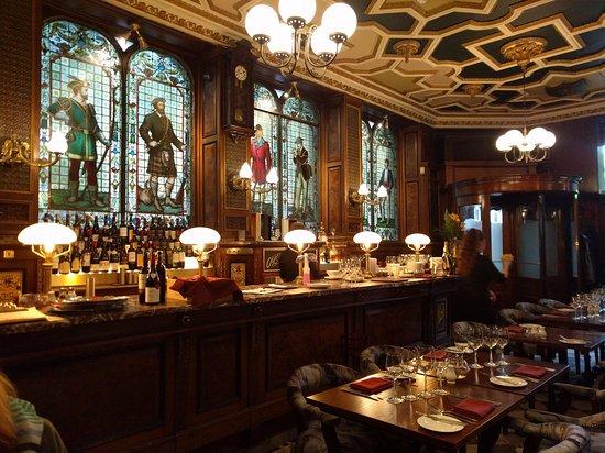 The Cafe Royal: Der abgeteilte Restaurant-Bereich