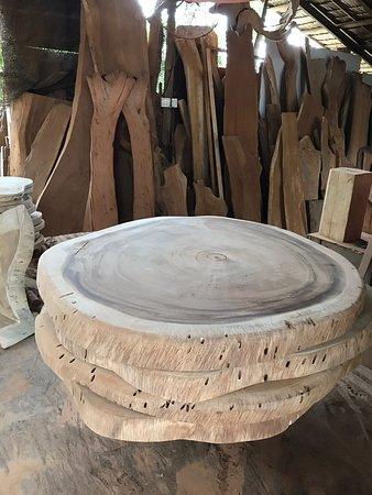 Teluk Kumbar, Malaysia: Woodwork crafts and arts