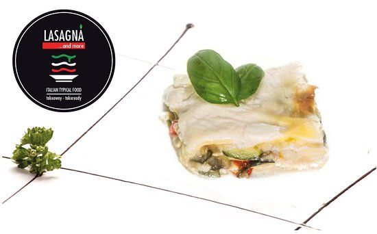 Lasagna and more: Vegetables lasagna with mixed vegetables in lasagna pasta with cheese and besciamella white souce.