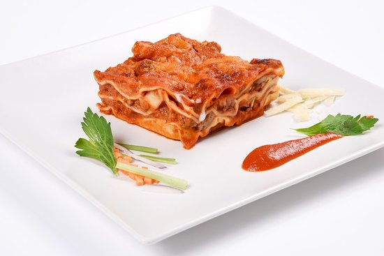 Lasagna and more: Bolognese Lasagna made with classic bolognese souce and original parmigiano.