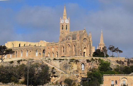 Ghajnsielem, Malta: Lourdes Chapel