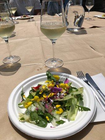 Walk, Cook & Eat of Sorrento Coast: Salad course
