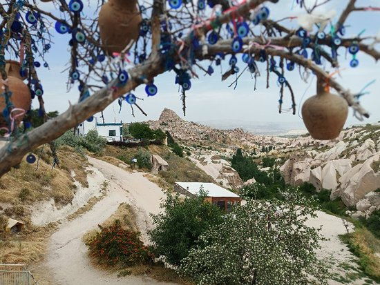 Cappadocia, Turkey: Views of the pigeon valley, the towns and the cave houses