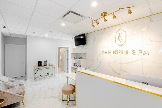 The KPIM Spa: Reception area