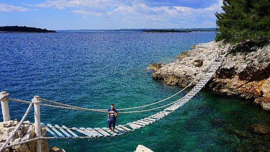 Pula, Croacia: Svjetionik Punta Cristo