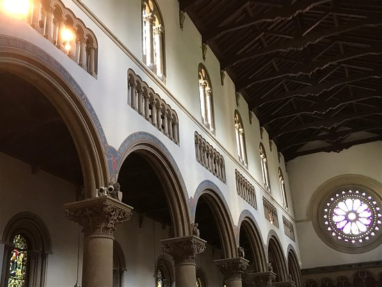 Church of St. Mary and St. Nicholas: Interior of the church