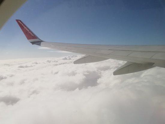 Norwegian: siamo in volo