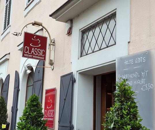 Café Classic Salzburg: Eingang