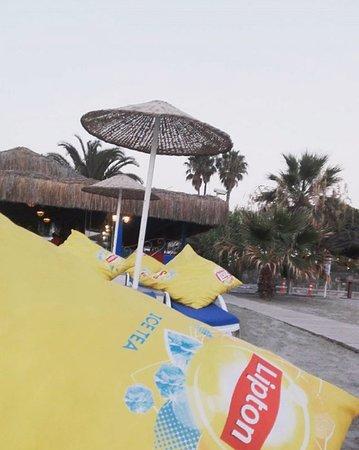 Atlantique Holiday Club: Aangenaam vertoeven, leuke ligbedden en kussens